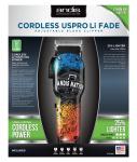 Andis Cordless USPro Li Andis Nation™ Fade vezeték nélküli hajvágó gép