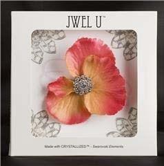Jwel U Virágpompa JW3-02 Ciklámen/narancs duplaszirmú virág