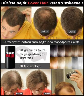 Cover Hair Hajdúsító por