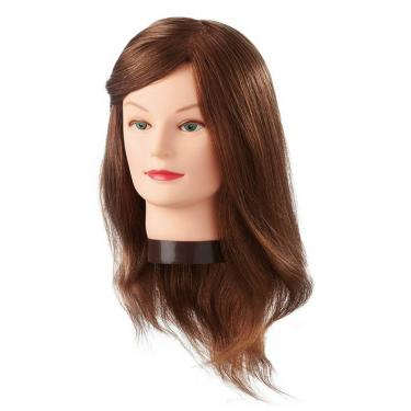 Babafej -EU.Modellezőfej 35-40 cm, eredeti hajjal
