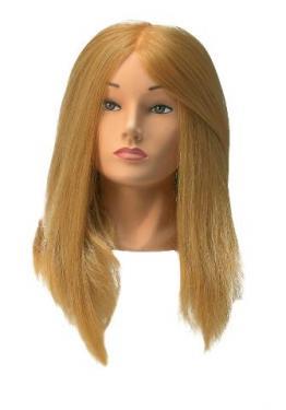 Gyakorló babafej Jessica Szintetikus hajból.
