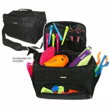 Head Jog - Black tool case- fodrász táska