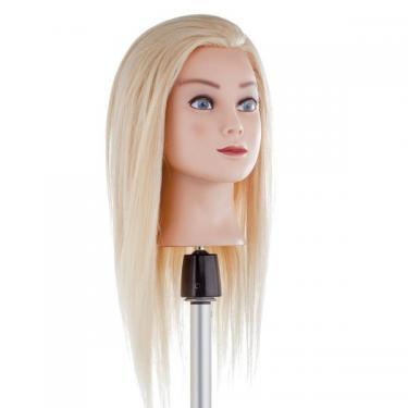 Szőke 100%-os humán szőke hajú gyakorló babafej