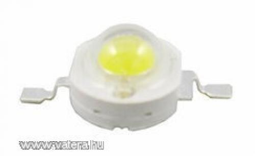 1w hidegfehér power LED