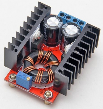DC-DC Step-up boost konverter - max 6A - max 35v