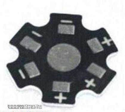 Hűtőcsillag 1w vagy 3w power LED-hez
