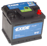 Exide Excell EB442 44Ah 420A autó akkumulátor