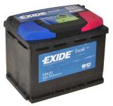 Exide Excell EB620 62Ah 540A autó akkumulátor
