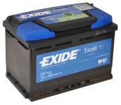 Exide Excell EB740 74Ah 680A autó akkumulátor