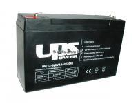 UPS Power 6V 12Ah ólom-zselés akku