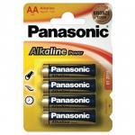 1,5V AA ceruza alkáli Panasonic Bronze elem 4db-os csomagban