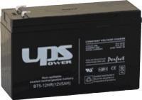 UPS Power 12V 6Ah ólom-zselés akku