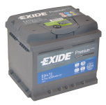 Exide Premium 47Ah 450A autó akkumulátor