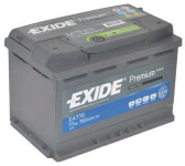 Exide Premium 77Ah 760A autó akkumulátor