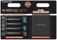 Eneloop Pro AA 2500mAh NiMH akku 4db-os dobozban