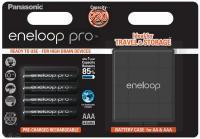 Eneloop Pro AAA 930mAh NiMH akku 4db-os dobozban