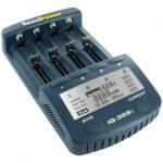 Accupower IQ 328+ négy töltőhelyes, kapacitásmérő akkutöltő