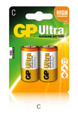 1,5V C baby ultra alkáli GP elem 2db-os csomagban