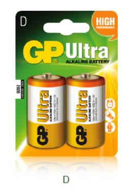 1,5V D góliát ultra alkáli GP elem 2db-os csomagban