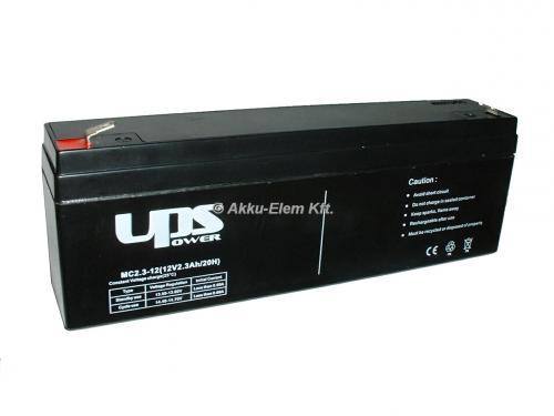 UPS Power 12V 2,3Ah ólom-zselés akku