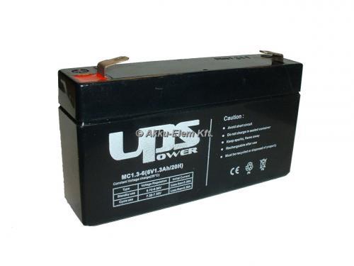 UPS Power 6V 1,2Ah ólom-zselés akku