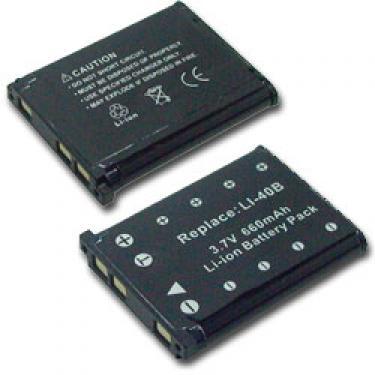 Casio NP-80 620mAh helyettesítő akku