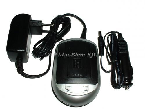 Akkutöltő Panasonic CG* és VW-* sorozatú Li-Ion akkukhoz