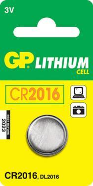 CR 2016 3V lítium elem