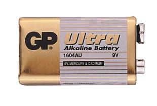 9V-os ultra alkáli GP elem