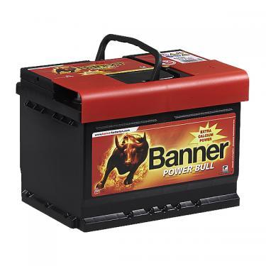 Banner Power Bull 12V 60Ah 540A jobb pozitívos autóakku