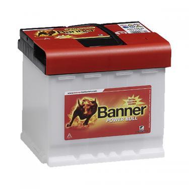 Banner Power Bull Professional 12V 50Ah 420A jobb pozitívos autóakku