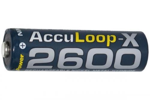 AccuLoop AA 2600mAh NiMh akkumulátor