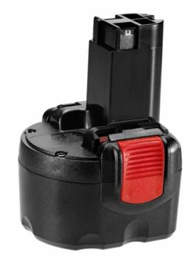 Bosch BAT048 9,6V 2Ah Ni-MH O-pack helyettesítő akku
