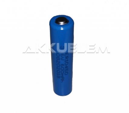 ER10450 3,6V AAA lítium elem