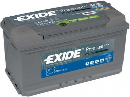 Exide Premium 100Ah 900A autó akkumulátor