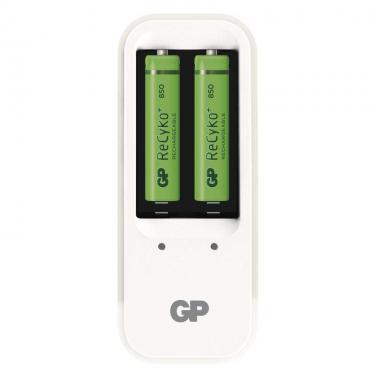 GP PB410 akkutöltő 2db 850mAh-s AAA akkuval