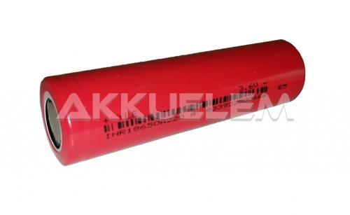 INR 18650 YLE 2200mAh Li-ion akkucella