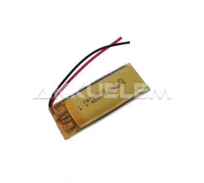 Li-Po akkumulátor cella 701535 3,7V 320mAh
