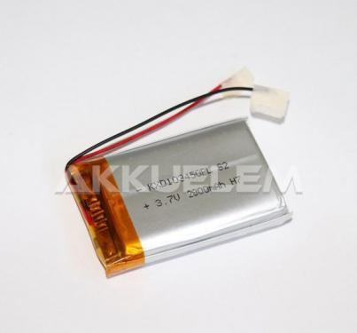 Li-Po akkumulátor cella 103450 3,7V 2000mAh