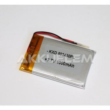 Li-Po akkumulátor cella 503450 3,7V 1000mAh
