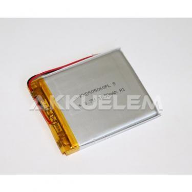 Li-Po akkumulátor cella 505060 3,7V 1650mAh