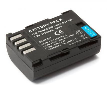 Panasonic DMW-BLF19 helyettesítő akku