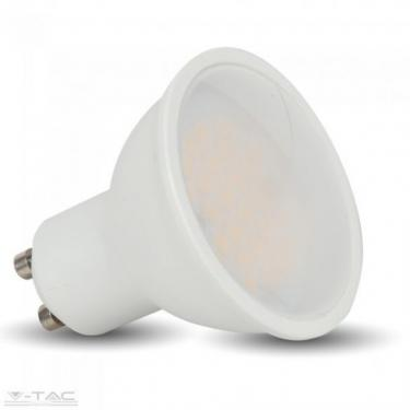 V-TAC 10W GU10 LED 1000lm meleg fehér (3000K) 110° opál