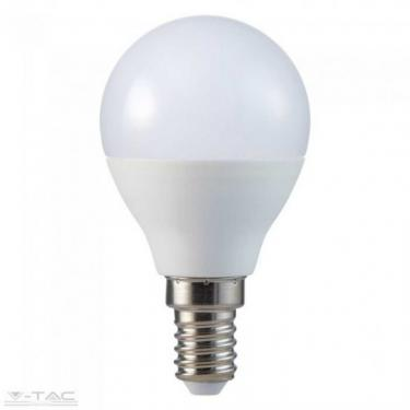 V-TAC 4,5W E14 LED 470lm meleg fehér (3000K) gömb alakú