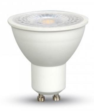 V-TAC 8W GU10 LED 750lm meleg fehér (3000K) 38°