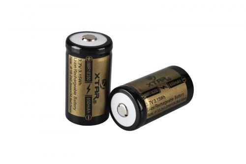 Xtar 18350 PCB 850mAh Li-Ion akkumulátor