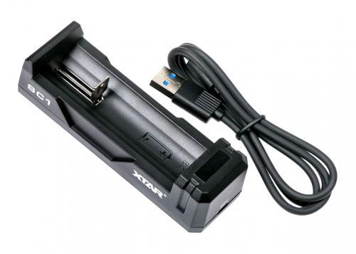 Xtar SC1 Li-Ion akkumulátor töltő