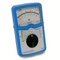 Voltmérő analóg 3-1000 V AC, 100 mV-1000 VDC Peaktech 3250