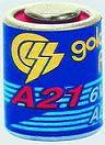 21 A   6 V alkáli elem    1 db