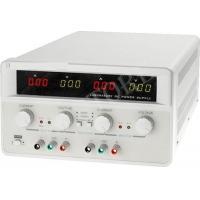 Labor tápegység kettős 0-60 VDC, 0-5 A